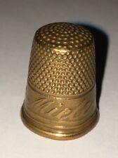 Messing Fingerhut Miele Thimbles brass De A Coudre
