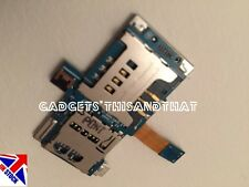 NEW SAMSUNG GALAXY S1 I9000 SIM CARD HOLDER MICRO SD MEMORY SLOT READER FLEX