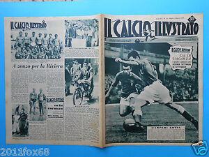 1948 il calcio illustrato n. 34 italia italy italie italien danimarca denmark hd
