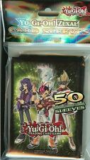 YU-GI-OH ZEXAL CARD SLEEVES PACK OF 50 TOURNAMENT LEGAL SLEEVES