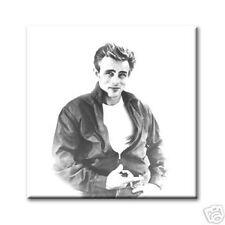 """cc art - CANVAS PRINT ARTWORK - JAMES DEAN - 24""""x24"""""""