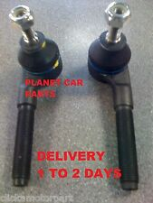 PEUGEOT 307 1.4 1.6 2.0 & HDi FRONT 2 OUTER STEERING TRACK ROD ENDS CHECK TYPE