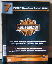 FASCICULE 7 MOTO HARLEY DAVIDSON FX DYNA LOW RIDER