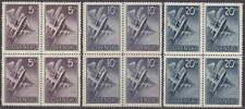 SLOVAKIA - 1940 NAZI GERMANY OCCUPATION - COMPLETE AIR SET Mi. 76-78 - **MNH**