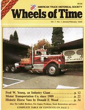 Horse Van History - Motor Transportation Co, fire truck 1986 Wheels of Time