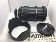 Tamron 28-200mm f/3.8-5.6 LD lente asferica (171A IF Super) BOX & Istruzioni