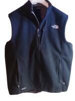 The North Face Men's Black Fleece Wind Wall Full Zip Vest ! Size XL