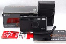 Ricoh GR1V 28mm 1:2.8 Point and Shoot Film Camera W/BOX #k71