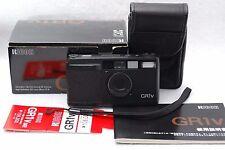 Ricoh GR1V 28mm 1:2.8 Point and Shoot Film Camera W/BOX #k71