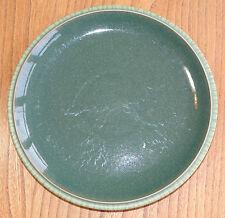 Denby Breakfast or Luncheon Plate - CALM - DARK GREEN