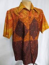 Vtg Andrade Honolulu Hawaiian Atomic Explosion Aloha Retro Shirt Xl