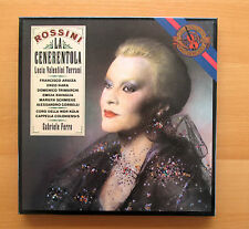 CBS 79359 Rossini La Cenerentola Terrani Ferro 3xLP Box Set NEAR MINT + booklet
