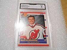 Martin Brodeur GRADED ROOKIE!! Mint 9!! 1990/91 Score #439 Devils HOFer!! 9-1