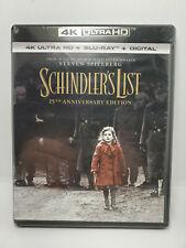Schindler's List 4K 25th Anniversary Edition (4K+Blu-ray, No Digital) Spielberg
