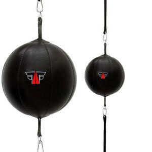 FOX-FIGHT Doppelendball Speedball Boxbirne Schlagbirne Leder Punchingball