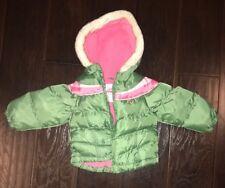 Toddler Girls 18M Osh Kosh Puffer Fleece Lined Jacket