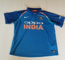 Nike Dri-fit Oppo India Cricket Polo Jersey Size XL 2018