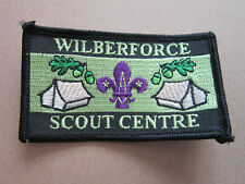 Wilberforce Scout Centre Cloth Patch Badge Boy Scouts Scouting L3K C
