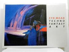 Syd Mead Techno Fantasy Art Portfolio Science Fiction Artwork