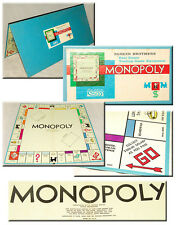 VINTAGE - MONOPOLY - 1961 - Real Estate GAME BOARD! - Parker Brothers *Good Cond