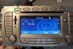 FORD S-MAX MONDEO MK4 GALAXY MK3 SAT NAV CD RADIO HEAD UNIT WITH SD CARD