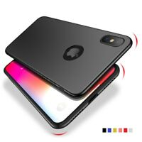 Ultra Thin Slim Hard Matte Phone Case Cover For iPhone X XR XS Max Plus 8 7 6S 6