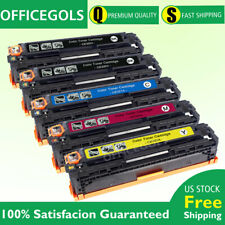 5P For HP LaserJet Pro CM1415fn CM1415fnw CP1525nw Color Toner CE320A 128A ink