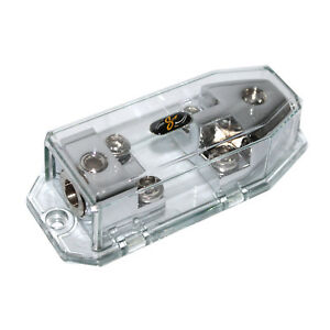 Stinger SHD822 Fused Distribution Block Multi-Gauge Midi Style Fuses HPM 1in/out