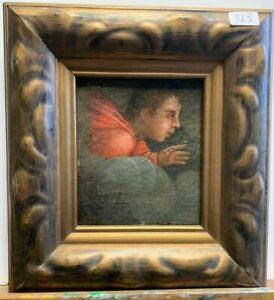 Dipinto - Angelo fra le nuvole - Olio su tela - XVI sec - Toscana