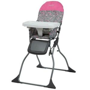 Full Size High Chair Adjustable Tray 3 Position Adjustable Comfortable Leg Rest