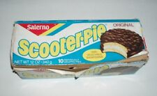 1970's Salerno Scooter-Pie cookie snack box - vintage product