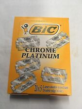 Bic Chrome Platinum Double Edge Razor Blades 100 PCS FREE SHIPPING!