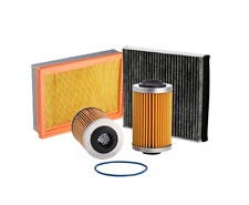 Ryco Oil Air Cabin Filter Kit - Fits Mazda 6 2.3 MPS Turbo (GG) 2005-2007
