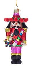 Nutcracker Mexican Sombrero Hat and Pinata Christmas Holiday Ornament Noble Gems