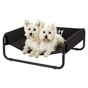 Bunty Elevated Sided Dog Bed Portable Waterproof Outdoor Raised Camping Pet Bask