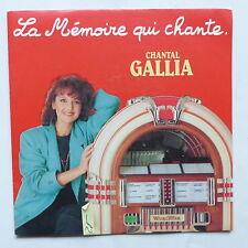 CHANTAL GALLIA La mémoire qui chante 721906 gainsbourg birkin claude francois