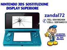 SERVIZIO DI RIPARAZIONE NINTENDO 3DS 3DS XL SOSTITUZIONE SCHERMO SUP DISPLAY LCD