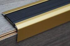 120 cm Gold Aluminium Treppenprofil Treppenkantenprofil Treppenwinkel Kanten