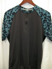 """Club Ride""""Camotion"""" Cycling Jersey Men's, Short Sleeve, Size M, Black, NWT"""