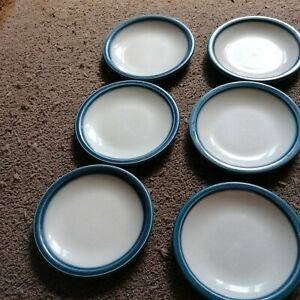 Wedgewood blue Pacific 6 x side plates