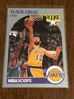 1990-91 Hoops Basketball Rookie - Vlade Divac RC - Los Angeles Lakers