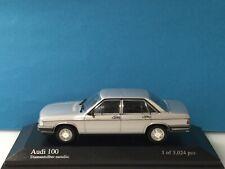 Minichamps 1:43 Audi 100 GL 1979 Silver Art.Nr: 400 015100