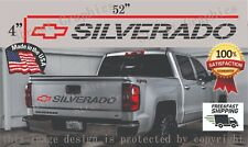 Silverado Vinyl Decal Chevrolet Tailgate Sticker 1500 2500 Trucks