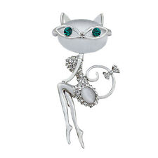 Fashion Cat Brooches Cute And Sexy Cat Pins And Brooches Wedding Accessories IU