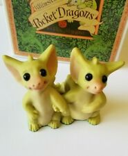 """""""Best Friends"""" Whimsical World of Pocket Dragons by Real Musgrave with Box"""