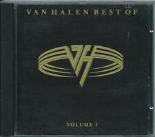 VAN HALEN  *BEST OF Vol.1* 1996 COMPILATION CD LIKE NEW