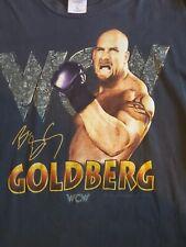 Rare Vintage 1998 WCW NWO Bill Goldberg WWF T Shirt