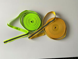 1m - Sew on Visibility, Reflective Tape width 20mm - (2-Colours)