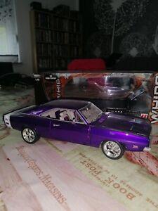 HOT Wheels Classics lila 1969 Dodge Charger R/T Team Baurtwell