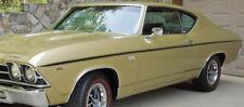 1969 Chevrolet Chevelle SS396 Factory Longitidinal Black Tape Stripe Kit NEW